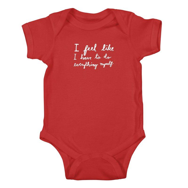 Everything Myself (Light) Kids Baby Bodysuit by Lauren Things Store