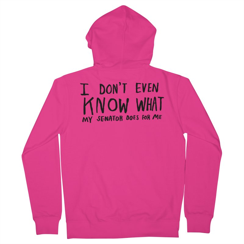 I Don't Even Know Men's Zip-Up Hoody by Lauren Things Store