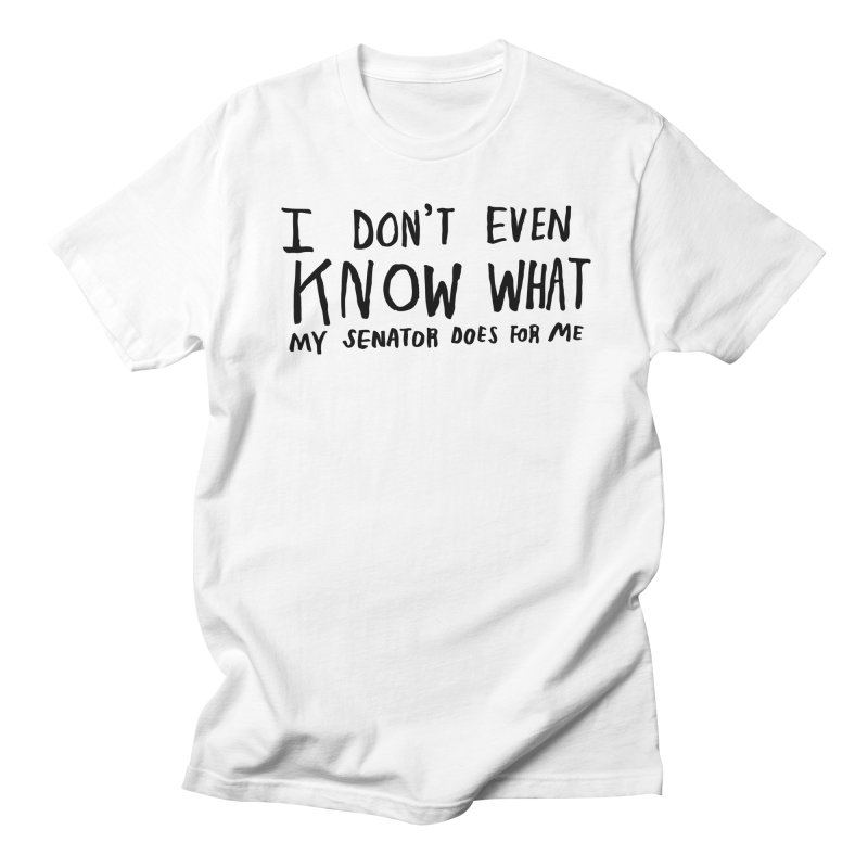 I Don't Even Know Men's Regular T-Shirt by Lauren Things Store