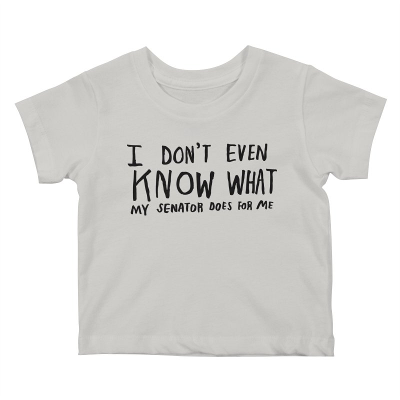 I Don't Even Know Kids Baby T-Shirt by Lauren Things Store
