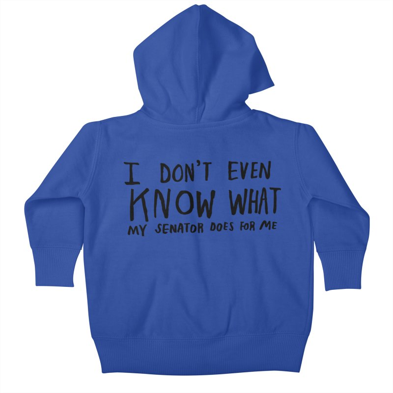 I Don't Even Know Kids Baby Zip-Up Hoody by Lauren Things Store