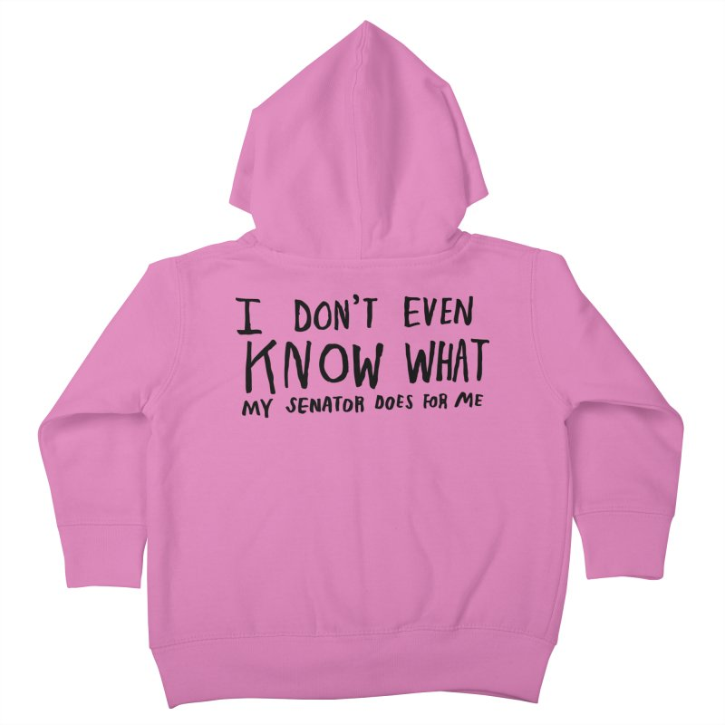 I Don't Even Know Kids Toddler Zip-Up Hoody by Lauren Things Store