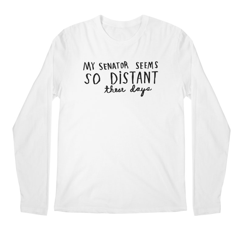 Distant Men's Regular Longsleeve T-Shirt by Lauren Things Store