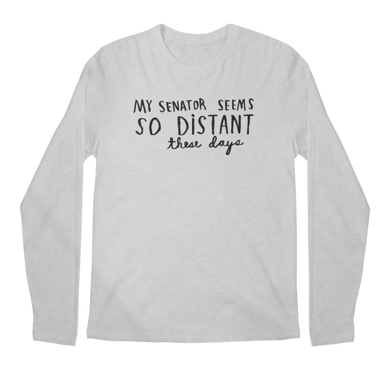 Distant Men's Regular Longsleeve T-Shirt by Lauren Things Store
