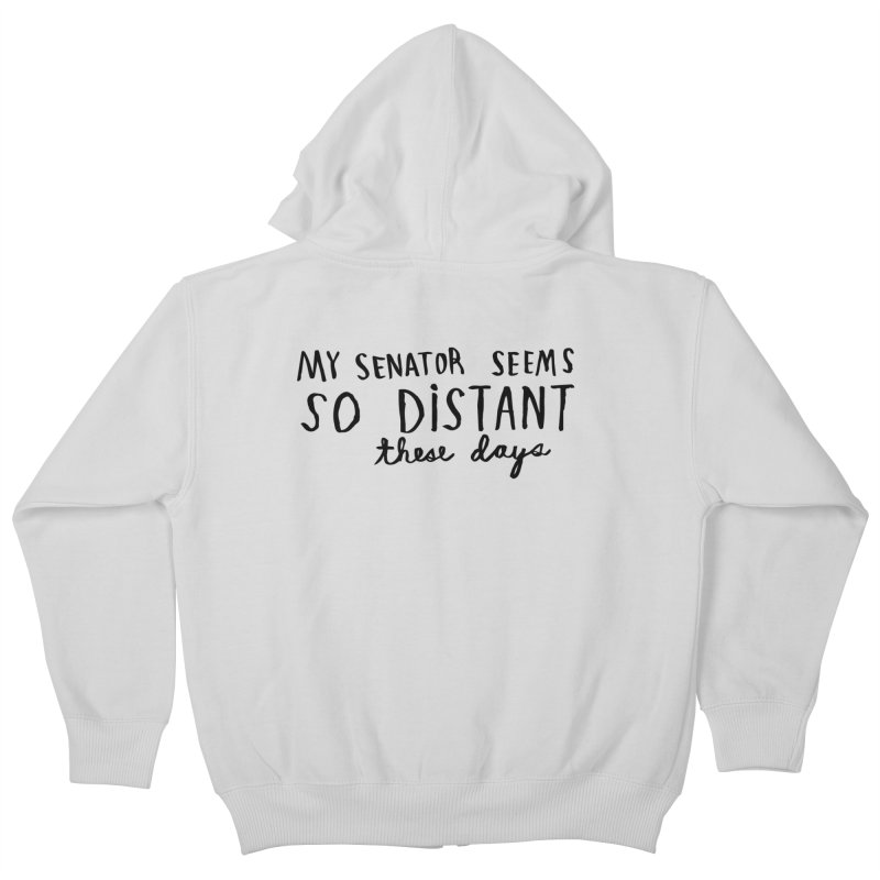Distant Kids Zip-Up Hoody by Lauren Things Store
