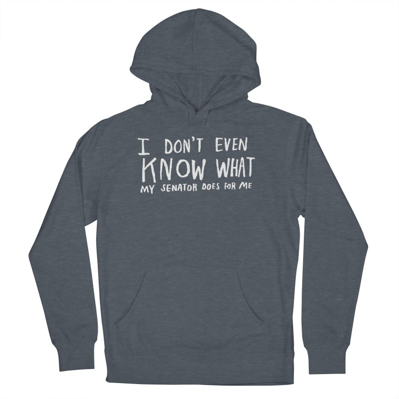 I Don't Even Know (Light) Men's French Terry Pullover Hoody by Lauren Things Store