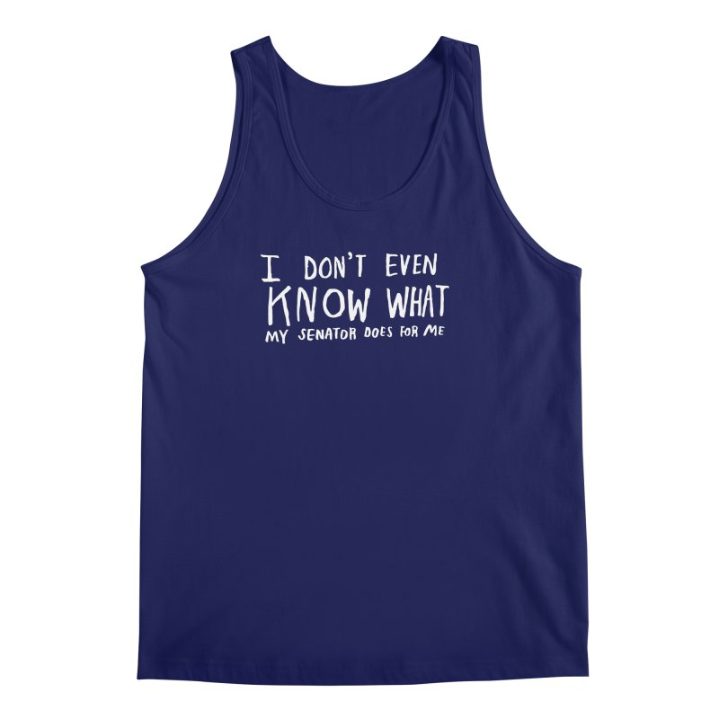 I Don't Even Know (Light) Men's Tank by Lauren Things Store