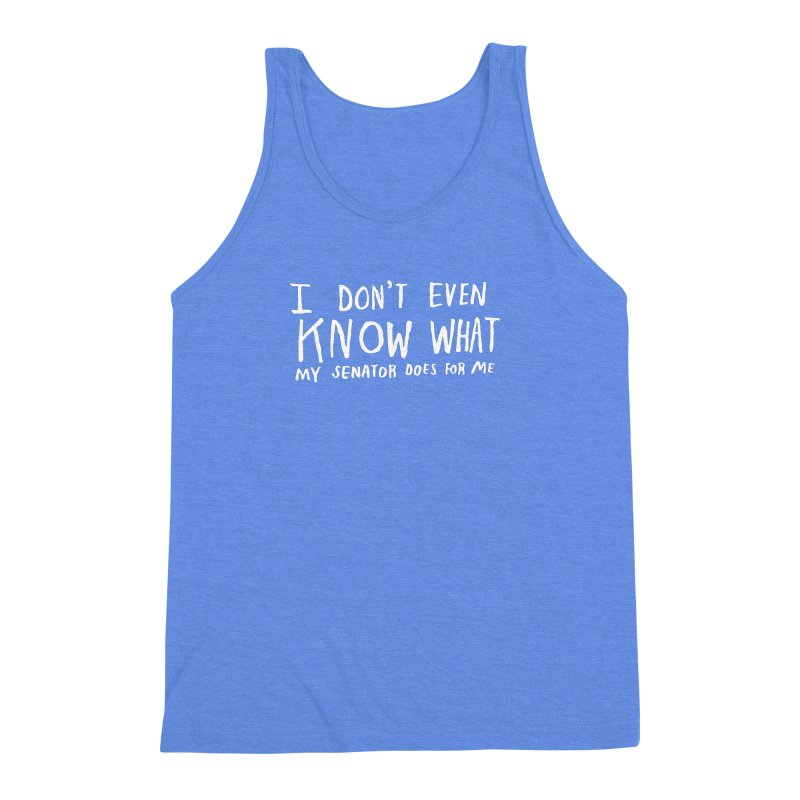I Don't Even Know (Light) Men's Triblend Tank by Lauren Things Store