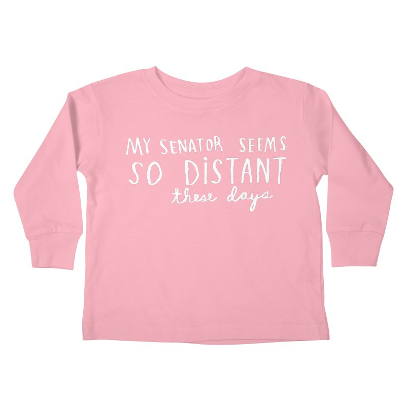 Distant (Light) Kids Toddler Longsleeve T-Shirt by Lauren Things Store