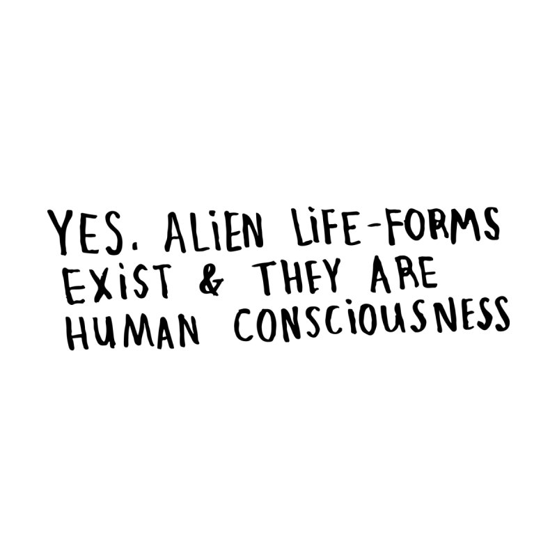 Yes Alien Life Women's Sweatshirt by Lauren Things Store