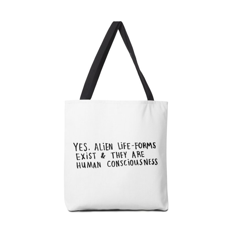 Yes Alien Life Accessories Bag by Lauren Things Store