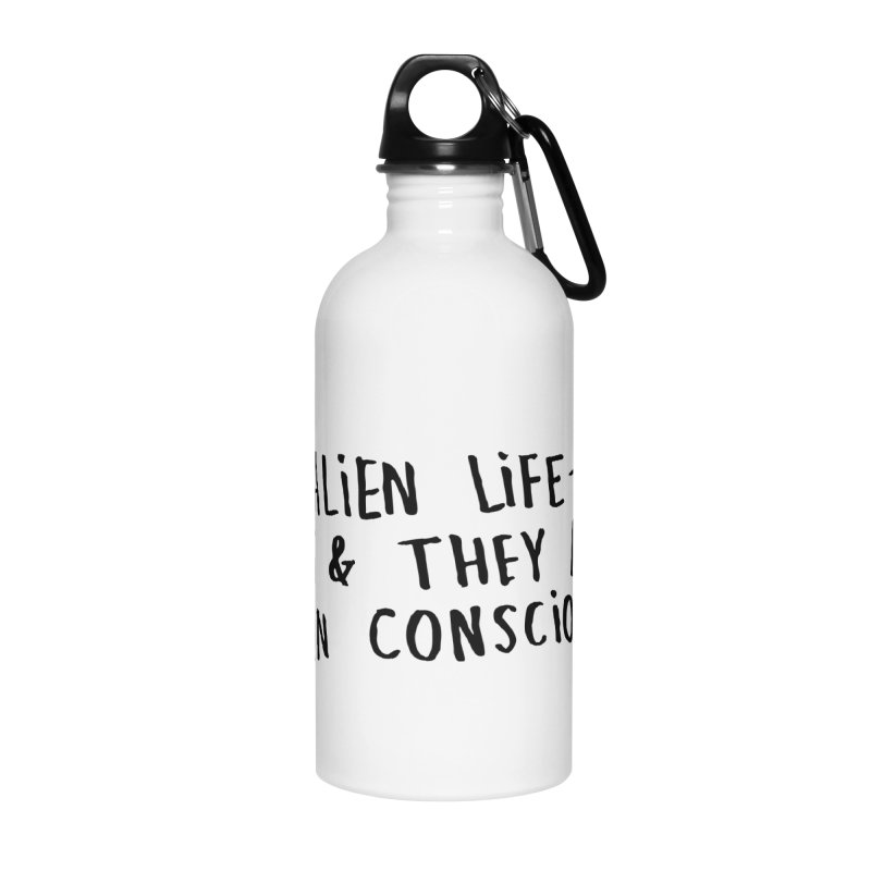 Yes Alien Life Accessories Water Bottle by Lauren Things Store