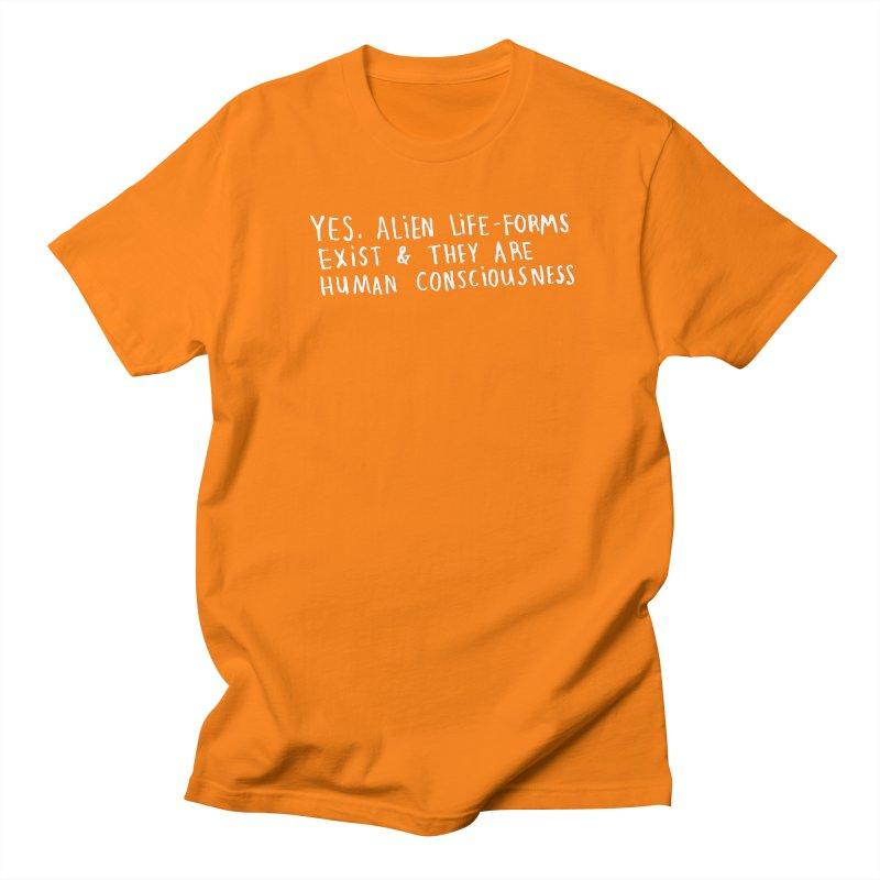 Yes Alien Life (Light) Women's Regular Unisex T-Shirt by Lauren Things Store