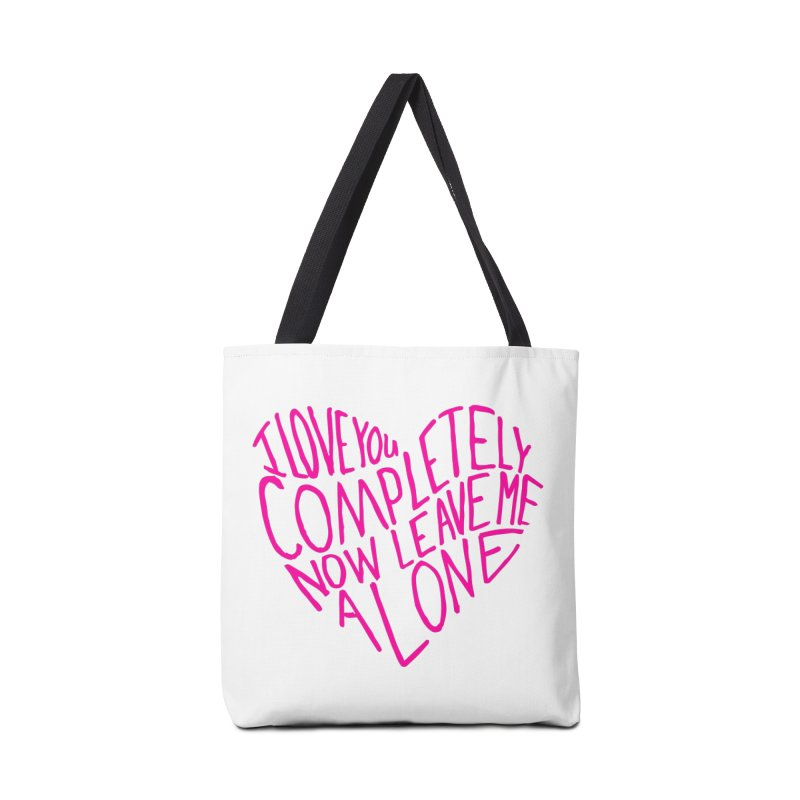 Introvert Love (Pink) Accessories Bag by Lauren Things Store