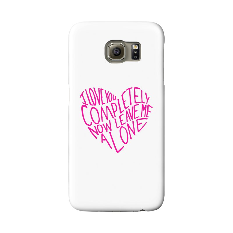 Introvert Love (Pink) Accessories Phone Case by Lauren Things Store