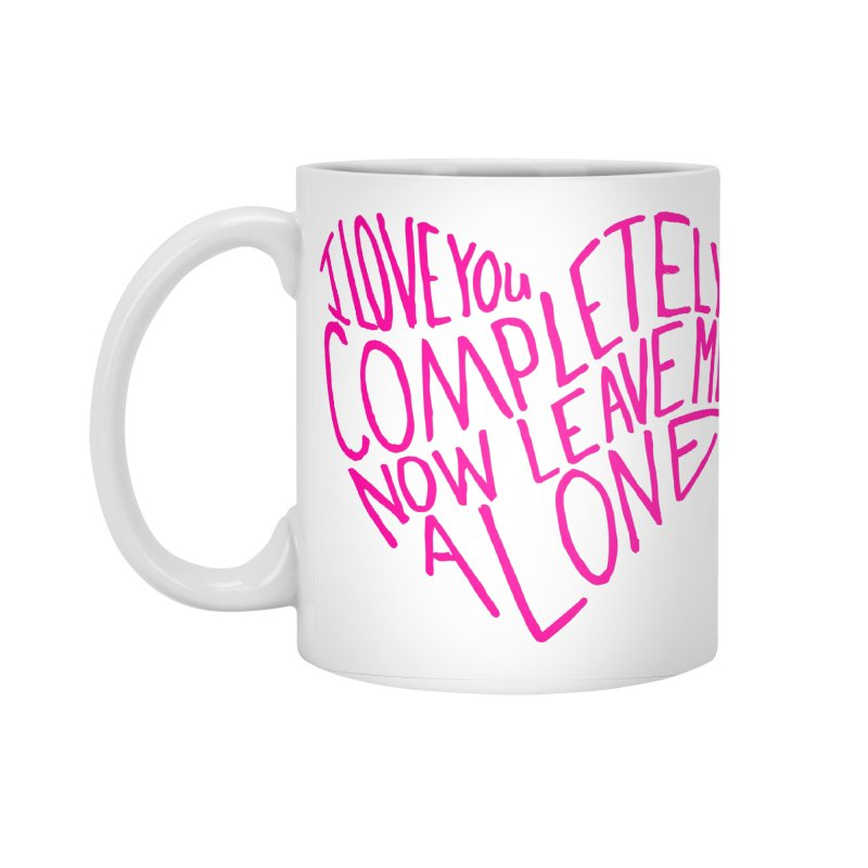 Introvert Love (Pink) Accessories Standard Mug by Lauren Things Store
