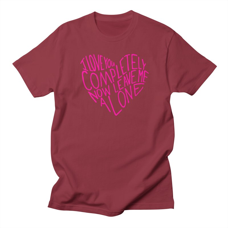 Introvert Love (Pink) Men's T-Shirt by Lauren Things Store