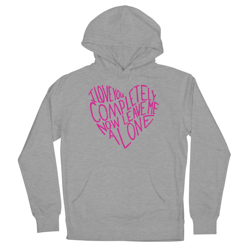 Introvert Love (Pink) Men's Pullover Hoody by Lauren Things Store
