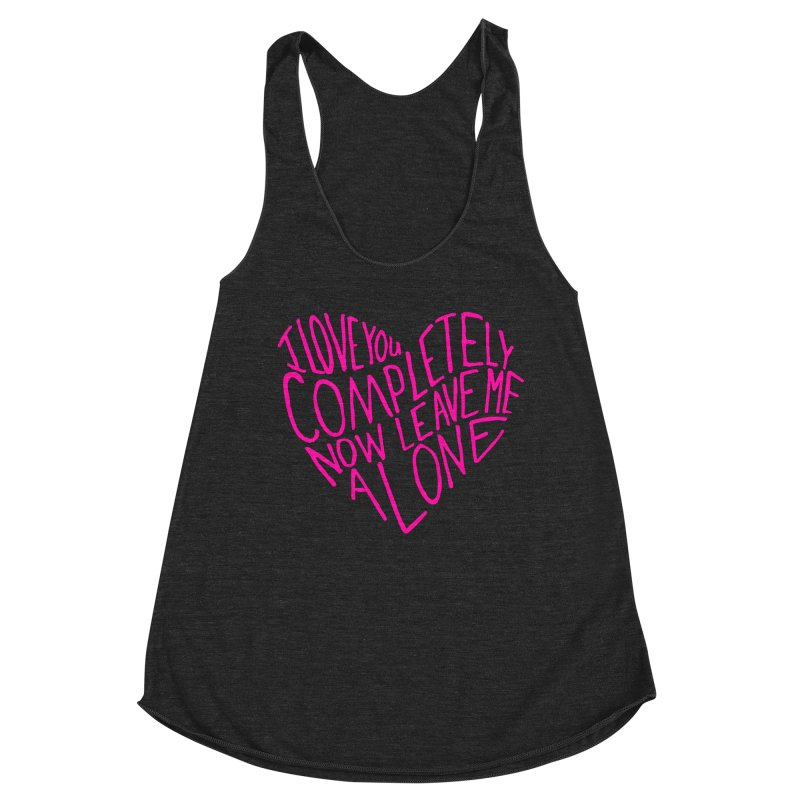 Introvert Love (Pink) Women's Tank by Lauren Things Store