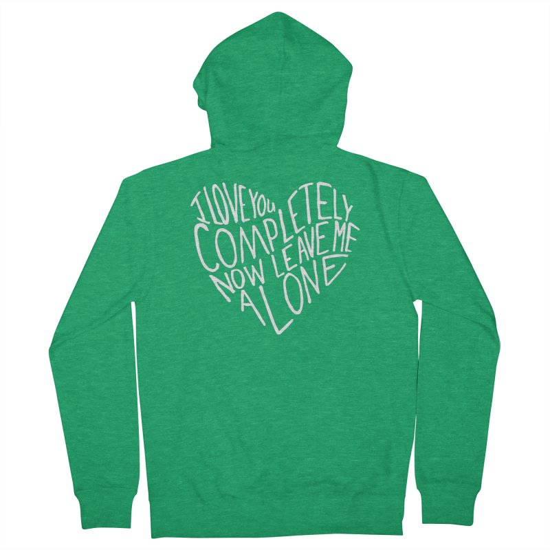 Introvert Love (Light) Women's Zip-Up Hoody by Lauren Things Store