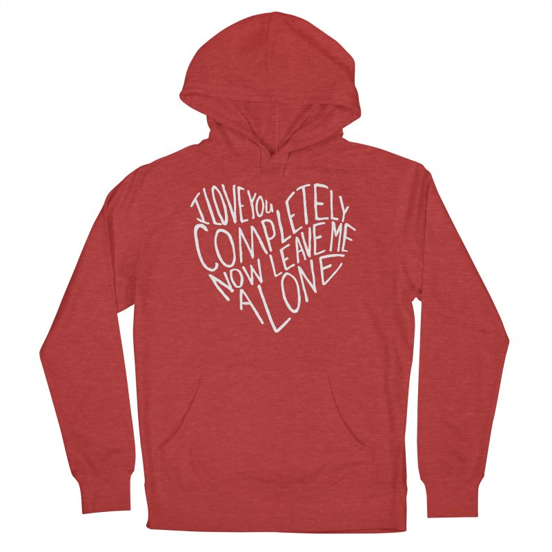 Introvert Love (Light) Women's Pullover Hoody by Lauren Things Store