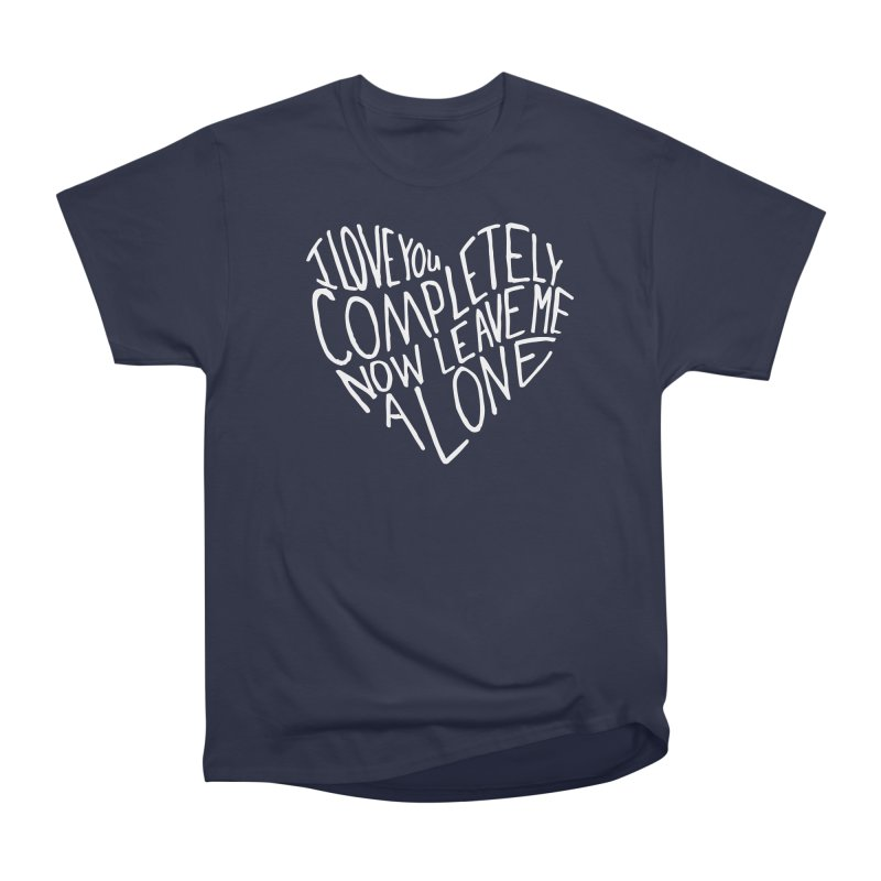 Introvert Love (Light) Men's Heavyweight T-Shirt by Lauren Things Store