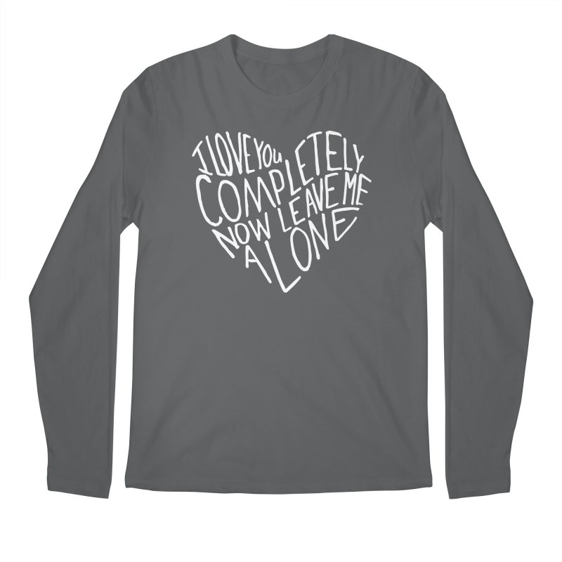 Introvert Love (Light) Men's Regular Longsleeve T-Shirt by Lauren Things Store