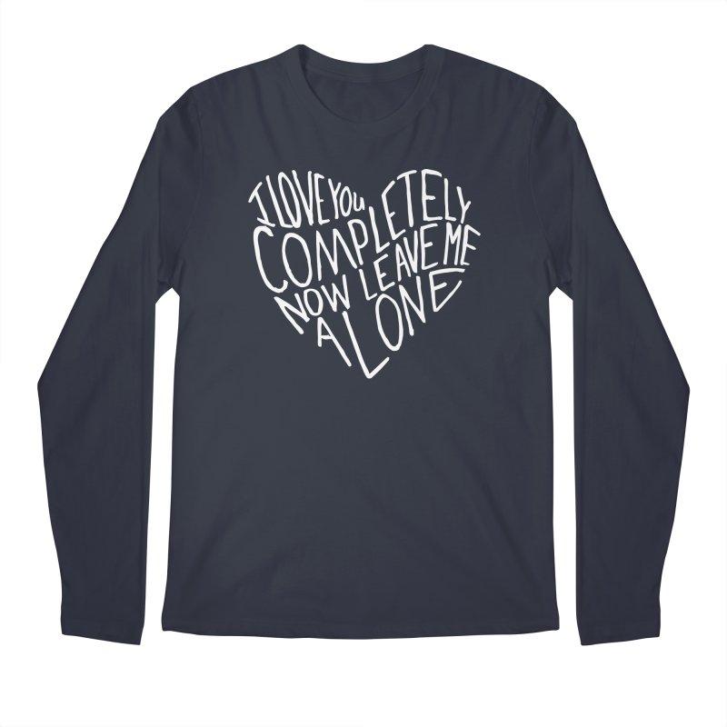Introvert Love (Light) Men's Regular Longsleeve T-Shirt by Lauren Things Store