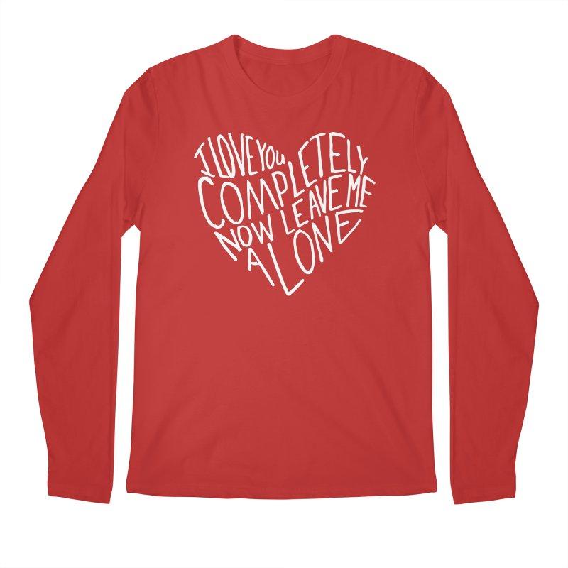 Introvert Love (Light) Men's Longsleeve T-Shirt by Lauren Things Store