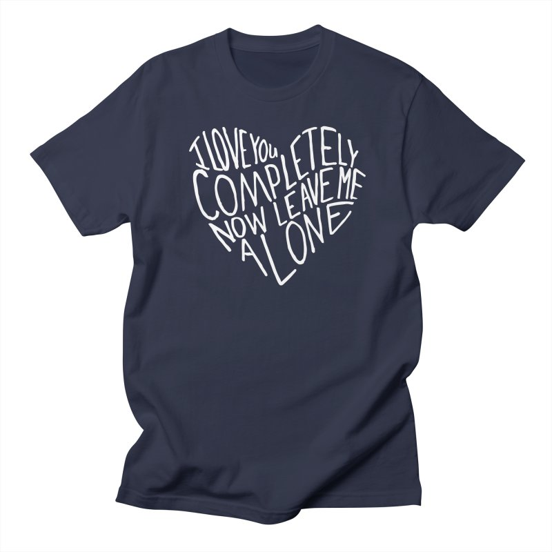 Introvert Love (Light) Women's Regular Unisex T-Shirt by Lauren Things Store