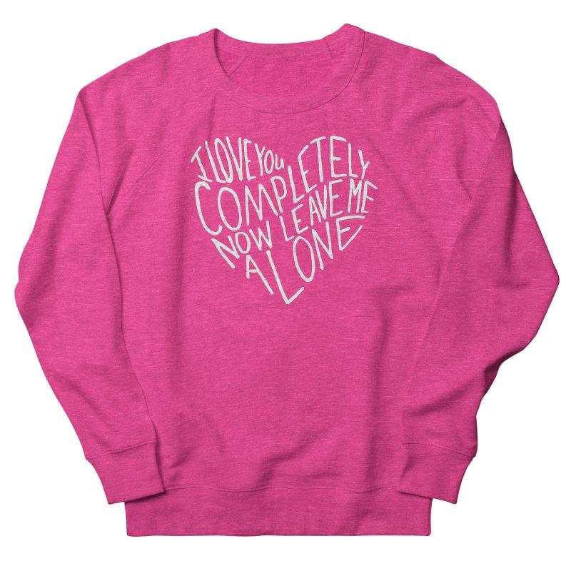 Introvert Love (Light) Women's French Terry Sweatshirt by Lauren Things Store