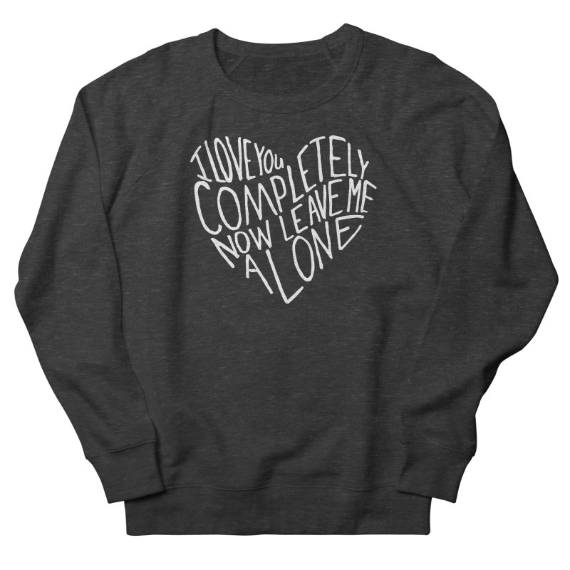Introvert Love (Light) Men's French Terry Sweatshirt by Lauren Things Store