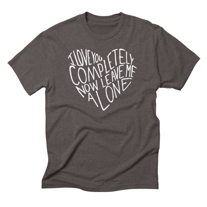 Introvert Love (Light) Men's Triblend T-Shirt by Lauren Things Store