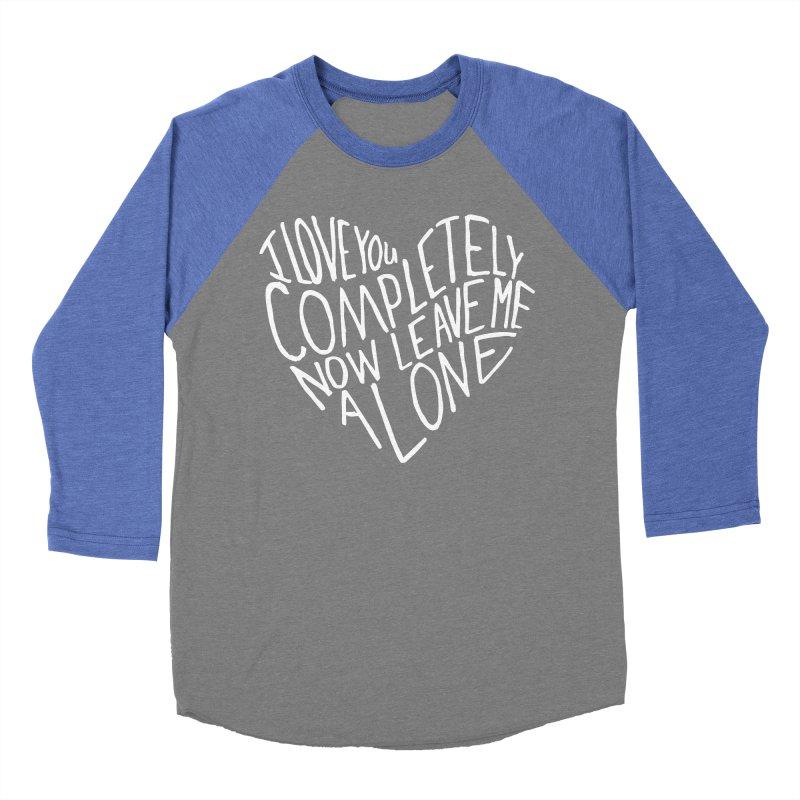 Introvert Love (Light) Women's Baseball Triblend Longsleeve T-Shirt by Lauren Things Store