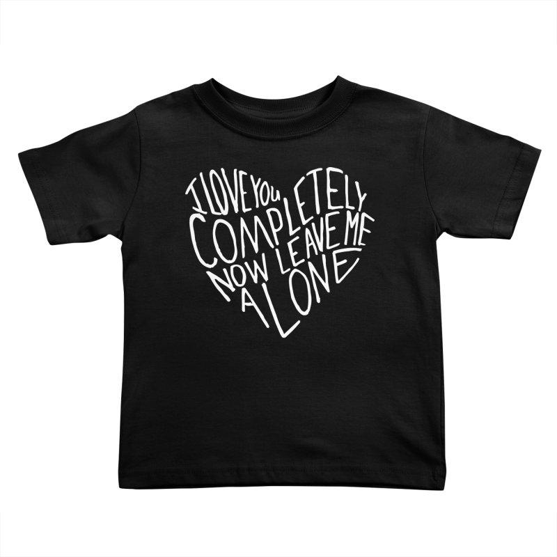 Introvert Love (Light) Kids Toddler T-Shirt by Lauren Things Store