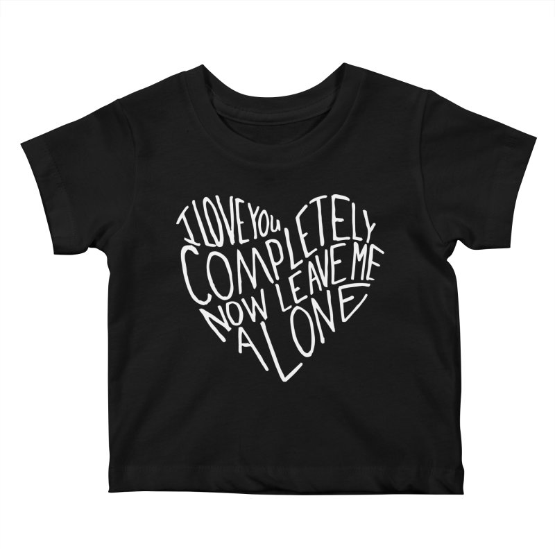 Introvert Love (Light) Kids Baby T-Shirt by Lauren Things Store