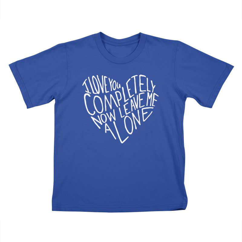 Introvert Love (Light) Kids T-Shirt by Lauren Things Store