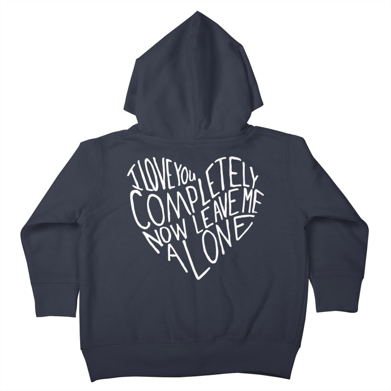 Introvert Love (Light) Kids Toddler Zip-Up Hoody by Lauren Things Store