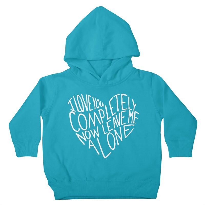 Introvert Love (Light) Kids Toddler Pullover Hoody by Lauren Things Store