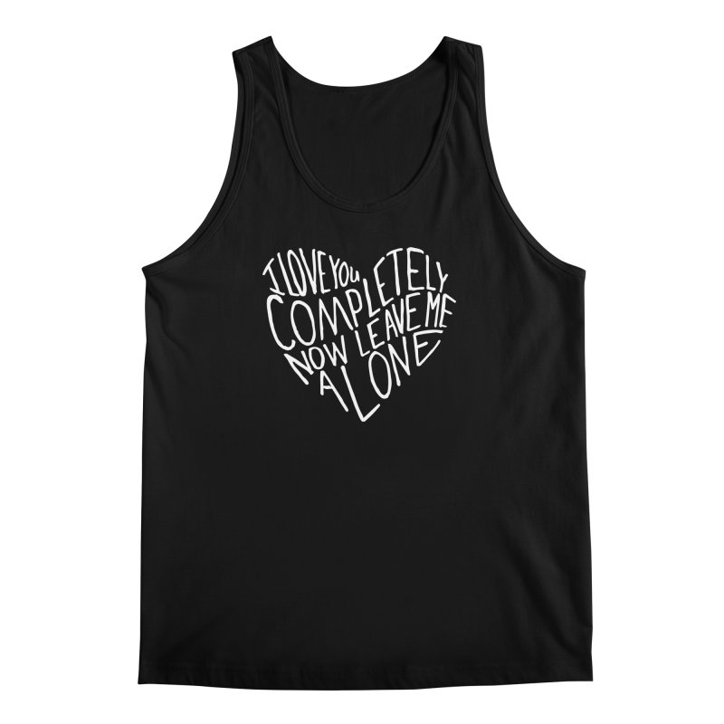 Introvert Love (Light) Men's Tank by Lauren Things Store