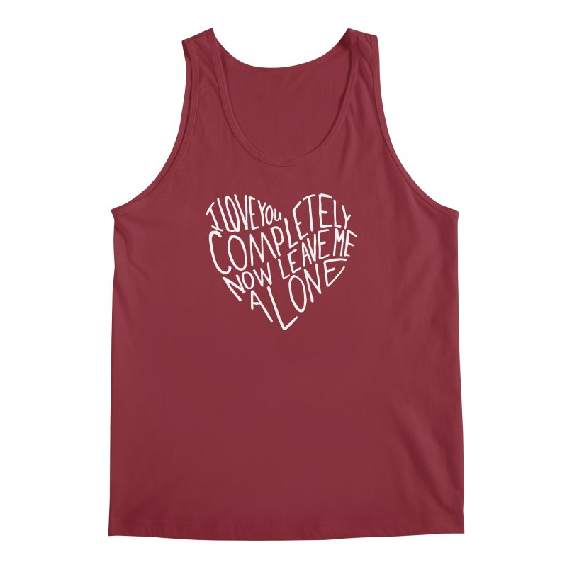 Introvert Love (Light) Men's Regular Tank by Lauren Things Store