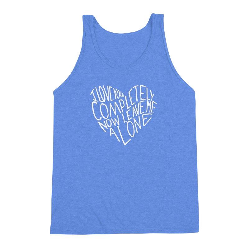 Introvert Love (Light) Men's Triblend Tank by Lauren Things Store