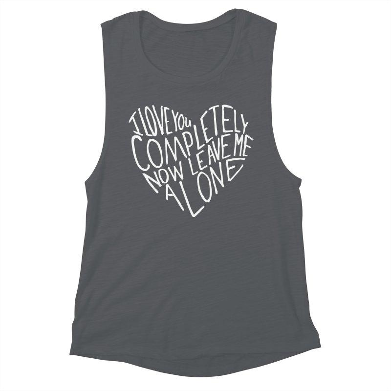Introvert Love (Light) Women's Muscle Tank by Lauren Things Store