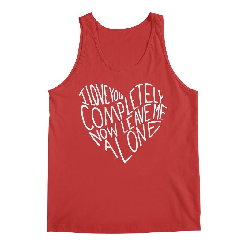 Introvert Love (Light) Men's Regular Tank by Lauren Things Store
