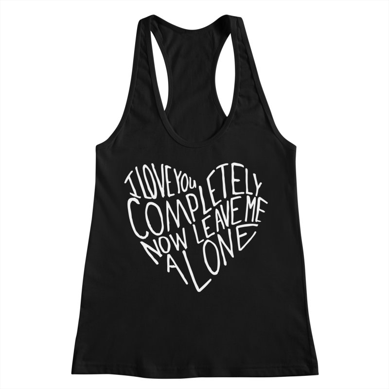 Introvert Love (Light) Women's Racerback Tank by Lauren Things Store