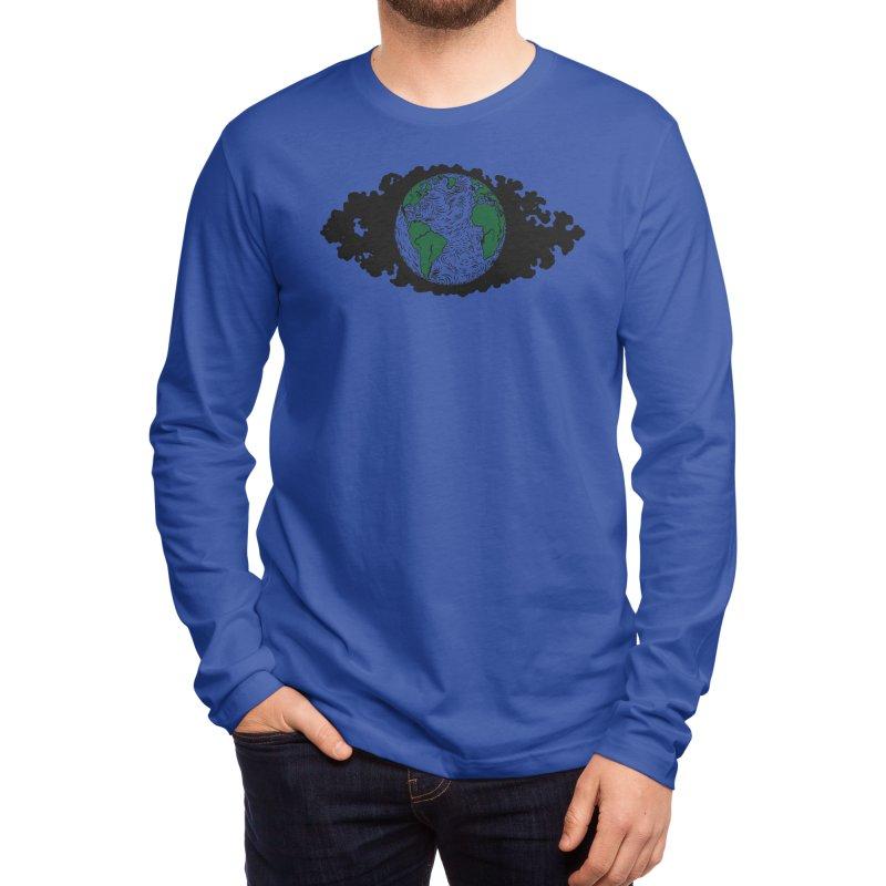 Earth Men's Longsleeve T-Shirt by laurenringelman's Artist Shop
