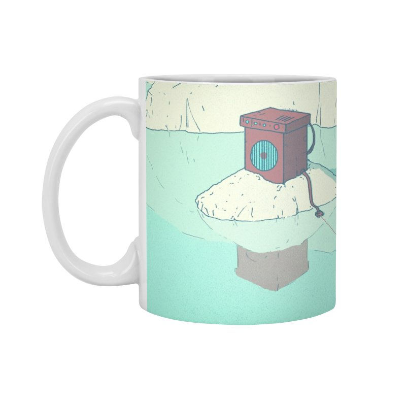 Arctic Sounds Accessories Mug by Laurent's Artist Shop