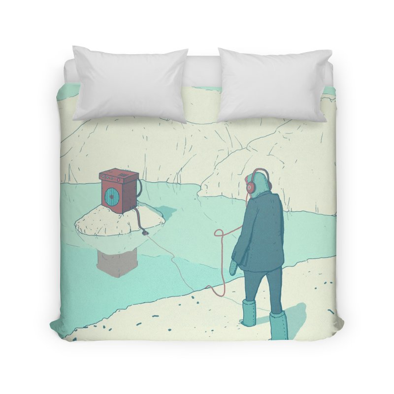 Arctic Sounds Home Duvet by Laurent's Artist Shop
