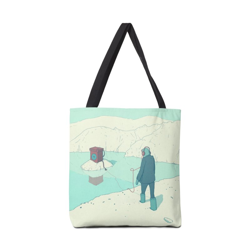 Arctic Sounds Accessories Bag by Laurent's Artist Shop