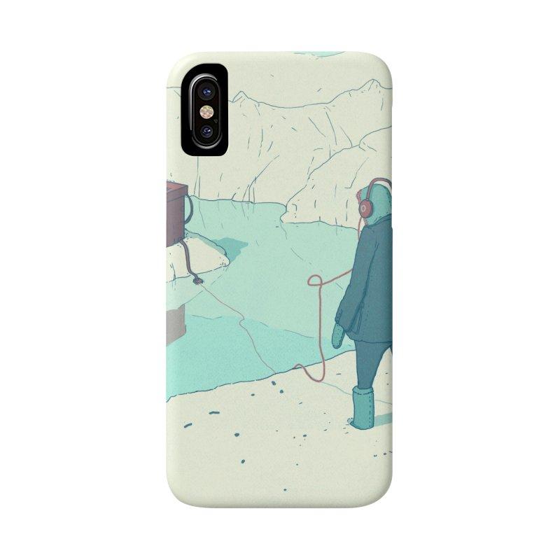 Arctic Sounds Accessories Phone Case by Laurent's Artist Shop